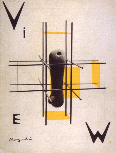 Isamu Noguchi View cover, October 1946