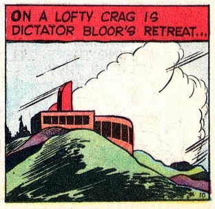 From Power Nelson the Futureman, Prize Comics #4, June 1940