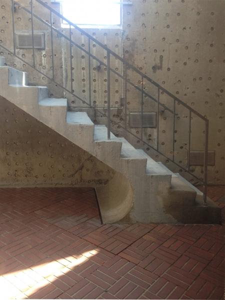 Denver Art Museum stairwell, Gio Ponti, 1971